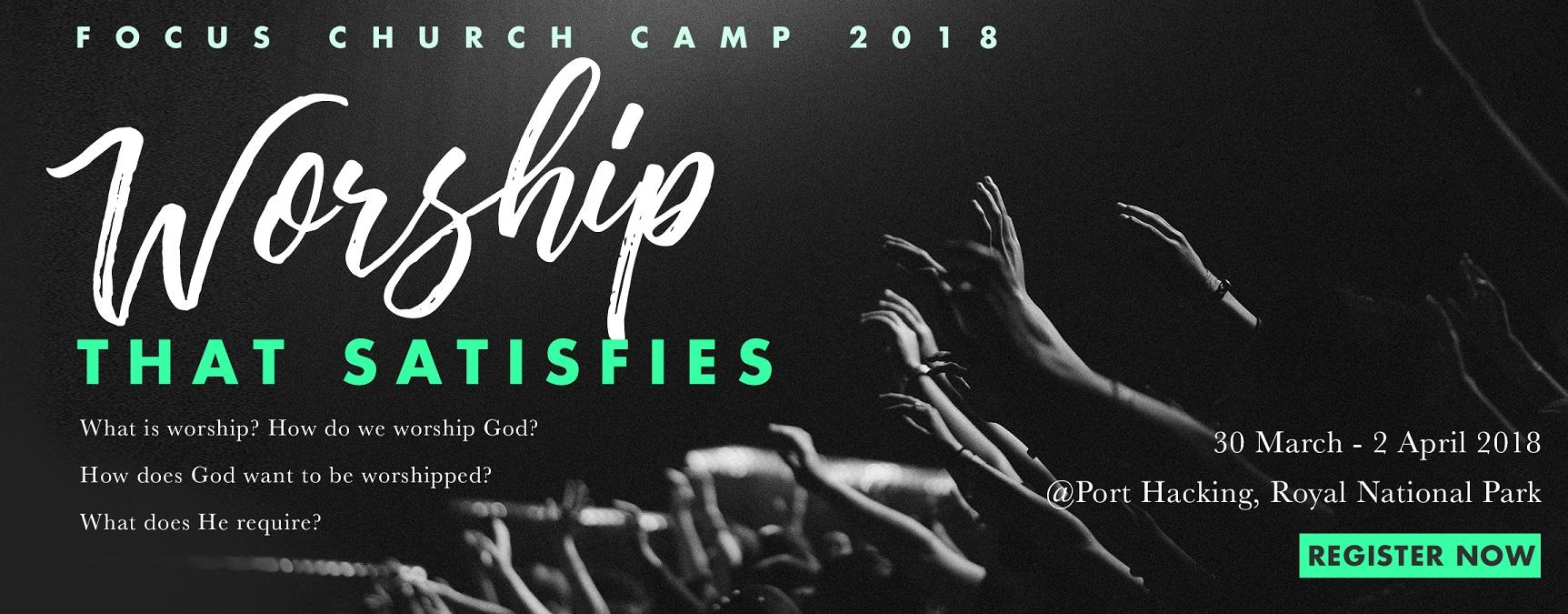 Focus Church Camp 2018