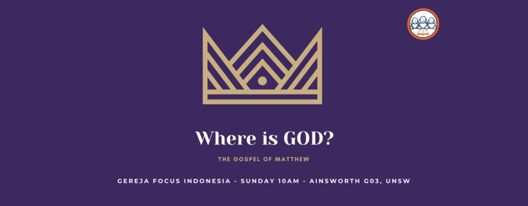 Sunday series: The Gospel of Matthew